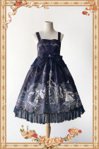 Infanta*Witch's Nightmare*Printing Sweet Lolita Jumper Skirt