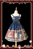 Infanta*Magic dictionary*Printing Lolita Jumper Skirt