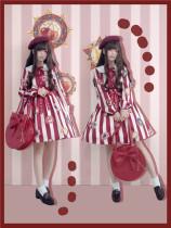To Alice*Retro elegance with large capacity lolita bag
