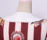 To Alice*Fruit badge printing lolita jumper skirt