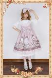 Infanta*Royal tea party rabbit*Printing Sweet Lolita Jumper Skirt