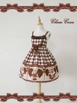 The Scepter Bear Daily High Waist Lolita Jsk Dress