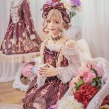 The traveler*Printing Sweet Lolita JSK Dress