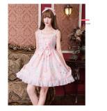Lovely rabbit*Print Sweet Lolita Jsk Dress