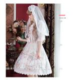 Rococo Ball*Print Sweet Lolita Jsk Dress