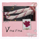 Yidhra~Vinevive Lolita High Sock for Summer