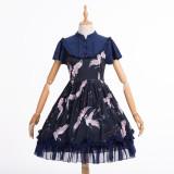 Wild crane*Chinese  Style Lolita OP Dress