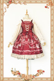 Infanta*Champs Elysees*Printing Sweet Lolita Jsk dress