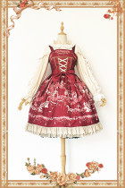 Infanta*Champs Elysees*Printing Sweet Lolita Jsk dress