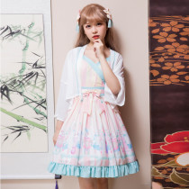 Rabbit*Chinese  Style Lolita Jsk+cape/Two-piece dress