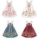 Doll Paradise ~Printing Daily Sweet Lolita JSK Dress