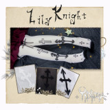 Yidhra~Lily Knight Gothic Lolita High Sock