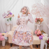 Chickadee Series Printing Sweet Lolita OP Dress
