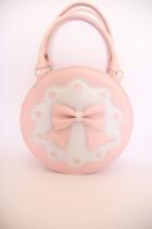 loris*Bowknot Lolita Cylinder Handbag