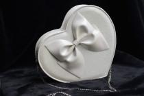 loris*Sweet Glitter Heart Shaped Bow Lolita Cross Body Bag