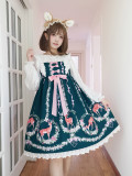 Doll Paradise ~Printing Daily Sweet Lolita JSK Dress