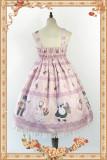 Infanta*Berry cat series*High waist Sweet Lolita Jsk Dress