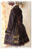 Infanta*Carousel*Lolita Gold Embroidery and Velvet Shawl Overcoat