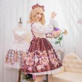 Chickadee Series Printing Sweet Lolita JSK Dress