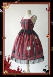 Infanta*Cat cross*Lolita Jimper Skirt In Stock