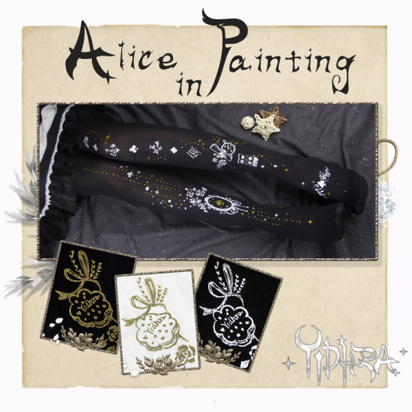 Yidhra~Alice in the mirror~ Lolita Tights for S/S