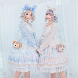 The Ballet Rabbit*Long Sleeve Sweet Lolita OP Dress