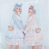 The Ballet Rabbit*Long Sleeve Sweet Lolita OP Dress