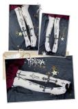 Yidhra~Lily Knight Gothic Lolita High Sock