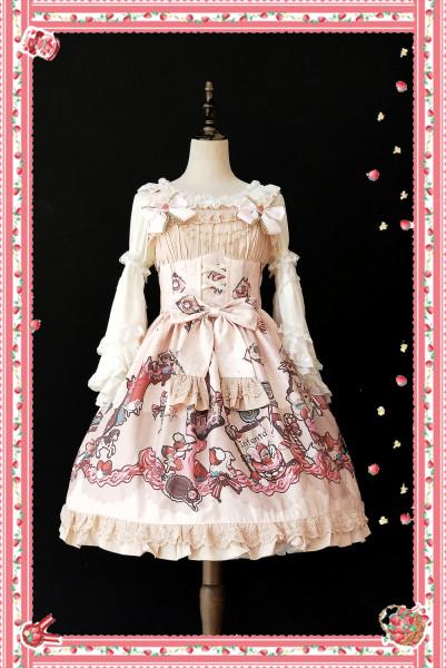 Infanta*Candy town*Printing Sweet Lolita Jsk Dress