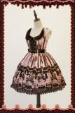 Infanta*Chocolate horse*Sweet Normal waist Lolita Jumper Skirt