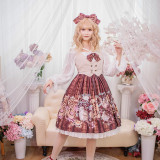 Chickadee Series Printing Sweet Lolita JSK Dress