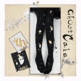 Yidhra~Ghost Cake  Gothic Lolita Tights Pre-order