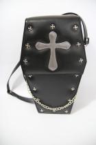 loris*Gothic Coffin Cross Lolita Bag