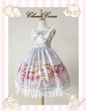 Afternoon Tea Rabbit Daily High Waist Lolita Jsk Dress