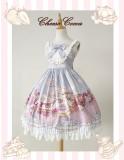 Afternoon Tea Rabbit Daily High Waist Lolita Jsk Dress