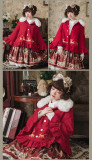 Elk Thick and Woolen Lolita Coat