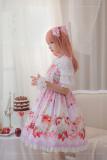 Strawberry festival~Printing Lolita Jsk Dress