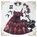 Vintage Luxuriant Gem Printing Lolita JSK Dress Pre-order