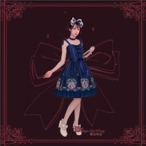 Bedtime book~Printing Sweet Lolita JSK Dress