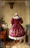 Flower fairy~Printing Classic Lolita OP Dress