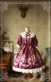 Flower fairy~Printing Classic Lolita OP Dress