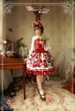 Sweet Christmas~Printing Classic Lolita  Jsk dress