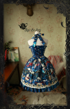 Circus girl~Printing Gothic Lolita Dress