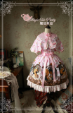 The squirrel couple~Pringting Sweet Lolita Cape