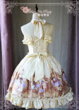 Painting Flowers Poems~Printing Classic Lolita Jsk dress Version Ⅰ