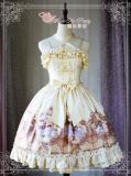 Painting Flowers Poems~Printing Classic Lolita Jsk dress Version Ⅰ