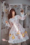 Antonio's four seasons~Printing Daily Lolita OP dress