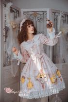 Antonio's four seasons~Printing Daily Lolita OP dress