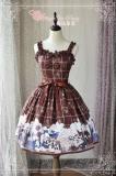 War of Thrones~Printing Sweet Lolita Jsk dress Version Ⅱ