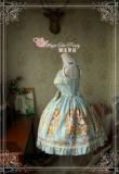 Alice~Printing Daliy Princess Lolita Jsk dress